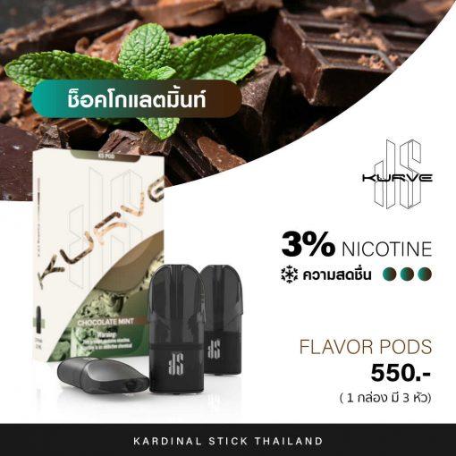 Kardinal Kurve Pods Chocolate Mint